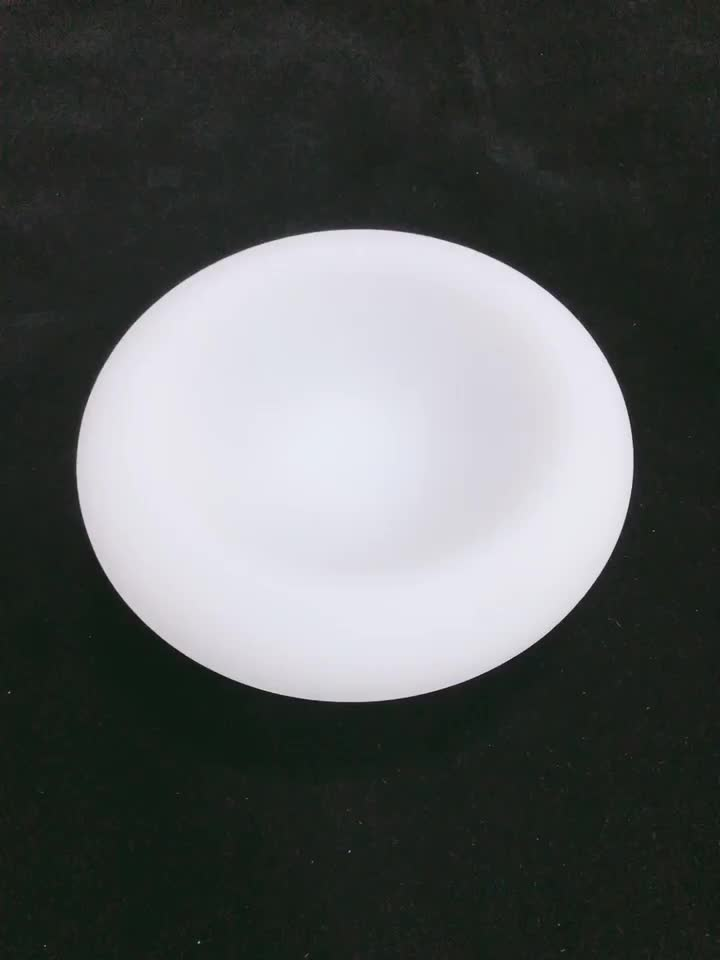 Eco-Friendly kitchen dining bar tools PE  plastic fruit bowl   waterproof Rechargeable lithium batteries LED light furniture
