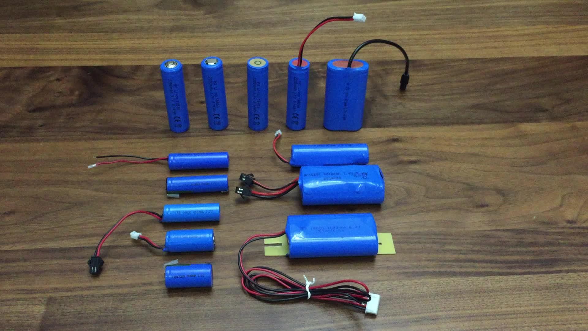 Li ionen 26650 batterie zelle 3,7 V 4500 mAh akkus für handy drone roller
