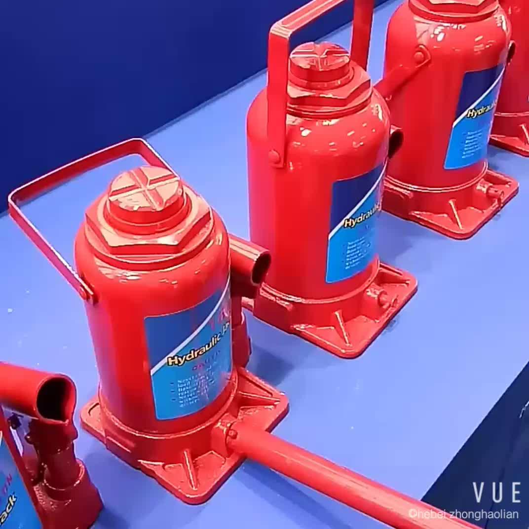 32 T Vérins Hydrauliques De Réparation De Voiture Rapide Outil De Levage Cric Bouteille Hydraulique Jack