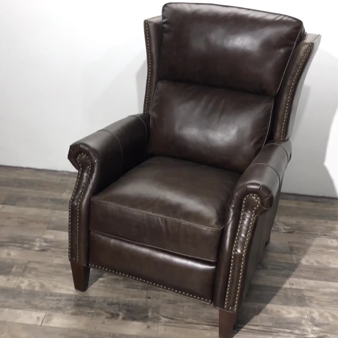 High-end Quality Accent Furniture Genuine Leather High Leg