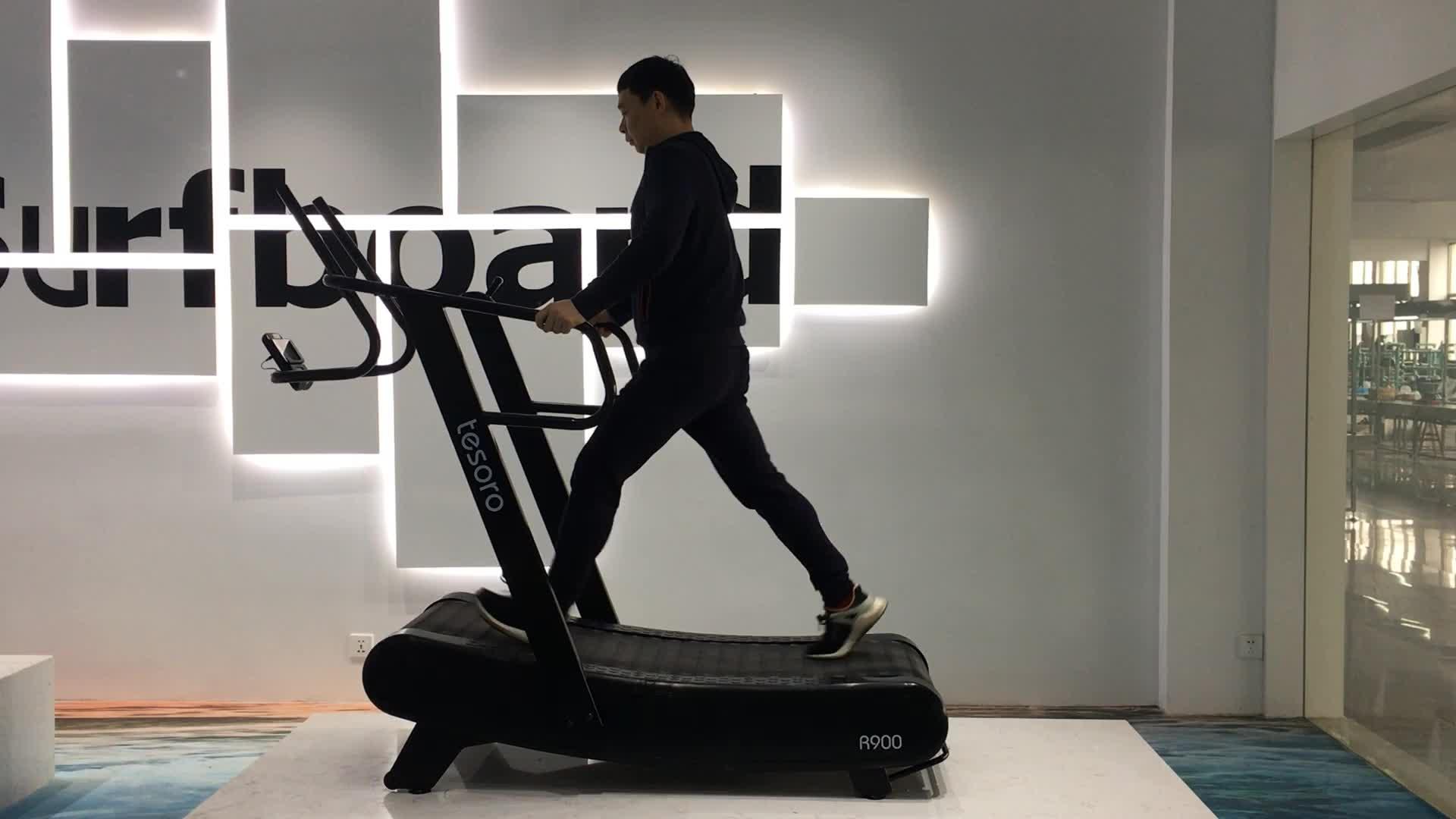 Woodway ลู่วิ่ง commercial พร้อมสำหรับ sprint air ลู่วิ่งวิ่งฟิตเนส gym อุปกรณ์