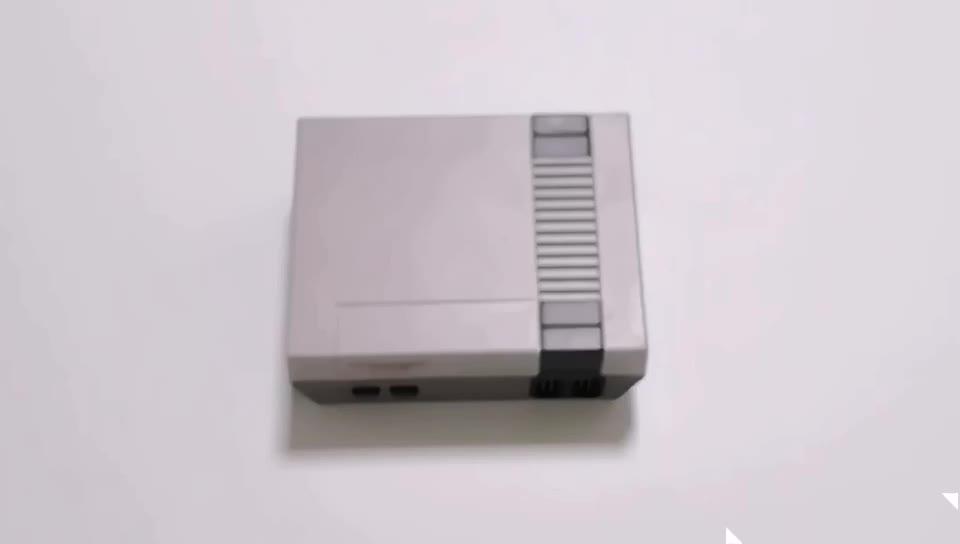 ขายส่งในตัว 620 เกมคอนโซลวิดีโอเกมทีวีคลาสสิก Mini 16Bit คอนโซลเกม Retro 620 Super 16 บิต