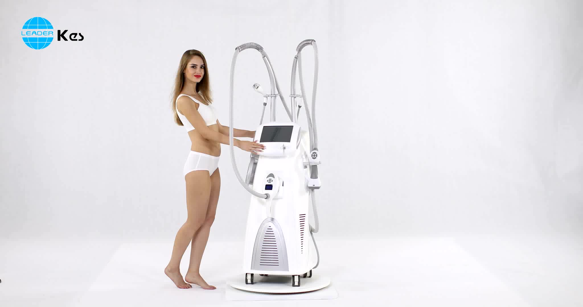 Advanced technology new system rf body shaping body slimming system ultrasound vacuum cavitation machine