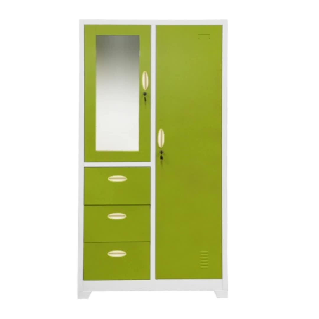 Nuovo prodotto di qualità superiore design moderno camera da letto/mobili commerciali 3 cassetto armadio/armadio con specchio