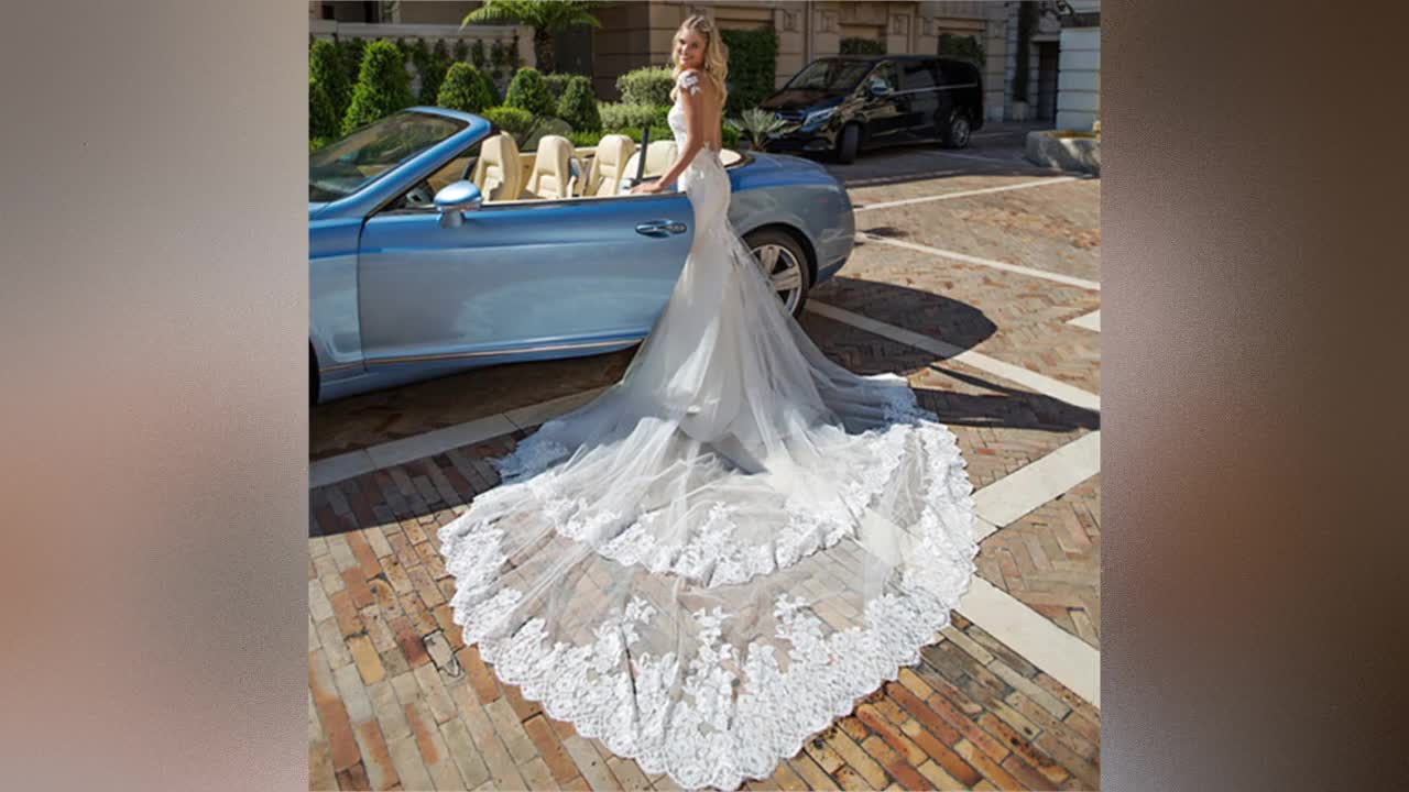 Cheap Wedding Dresses 2019 Sexy Africa Wedding Gowns Vestido de novia Mermaid Wedding Dress Bridal Gowns with Fishtail A159