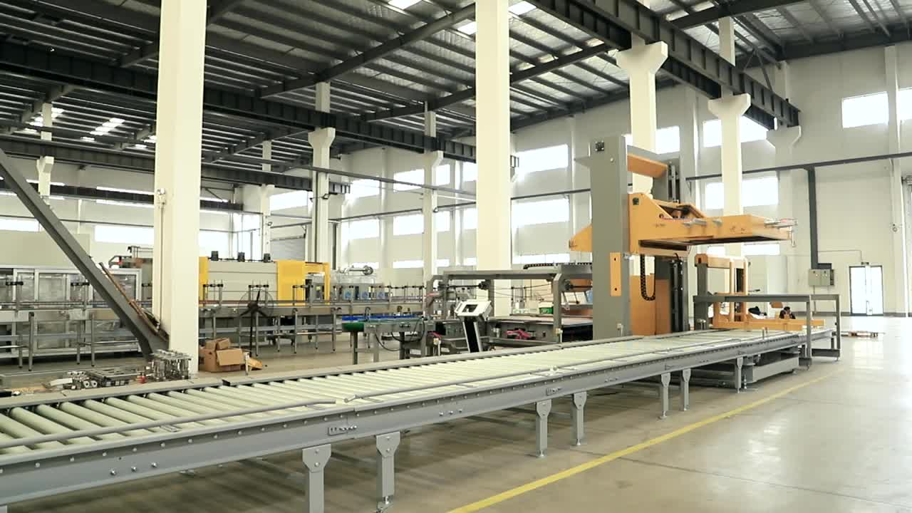 Full Set Water Line Filling Capping And Labeling Machine
