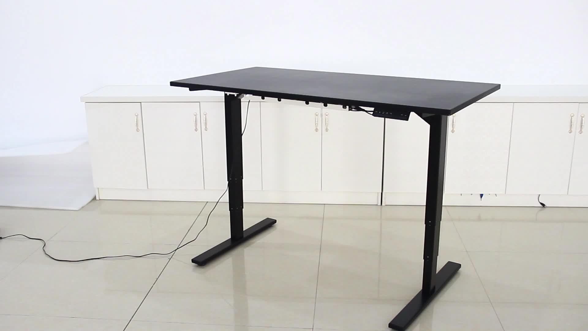 Двойной мотор стоя стол высота регулируемая подъемная Колонка для стола