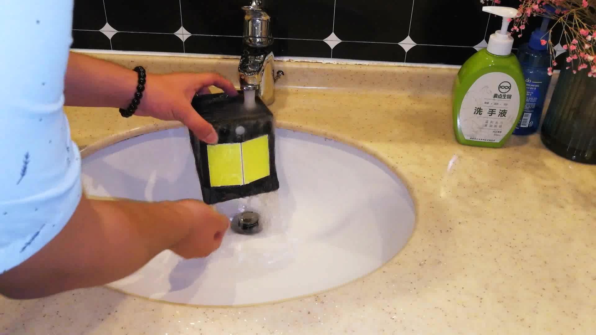 Indoor LED Keselamatan Energi Pintu Patio Lampu Tenaga Surya Outdoor Lampu Dinding dengan Sensor Gerak untuk Taman Garasi Kolam Renang