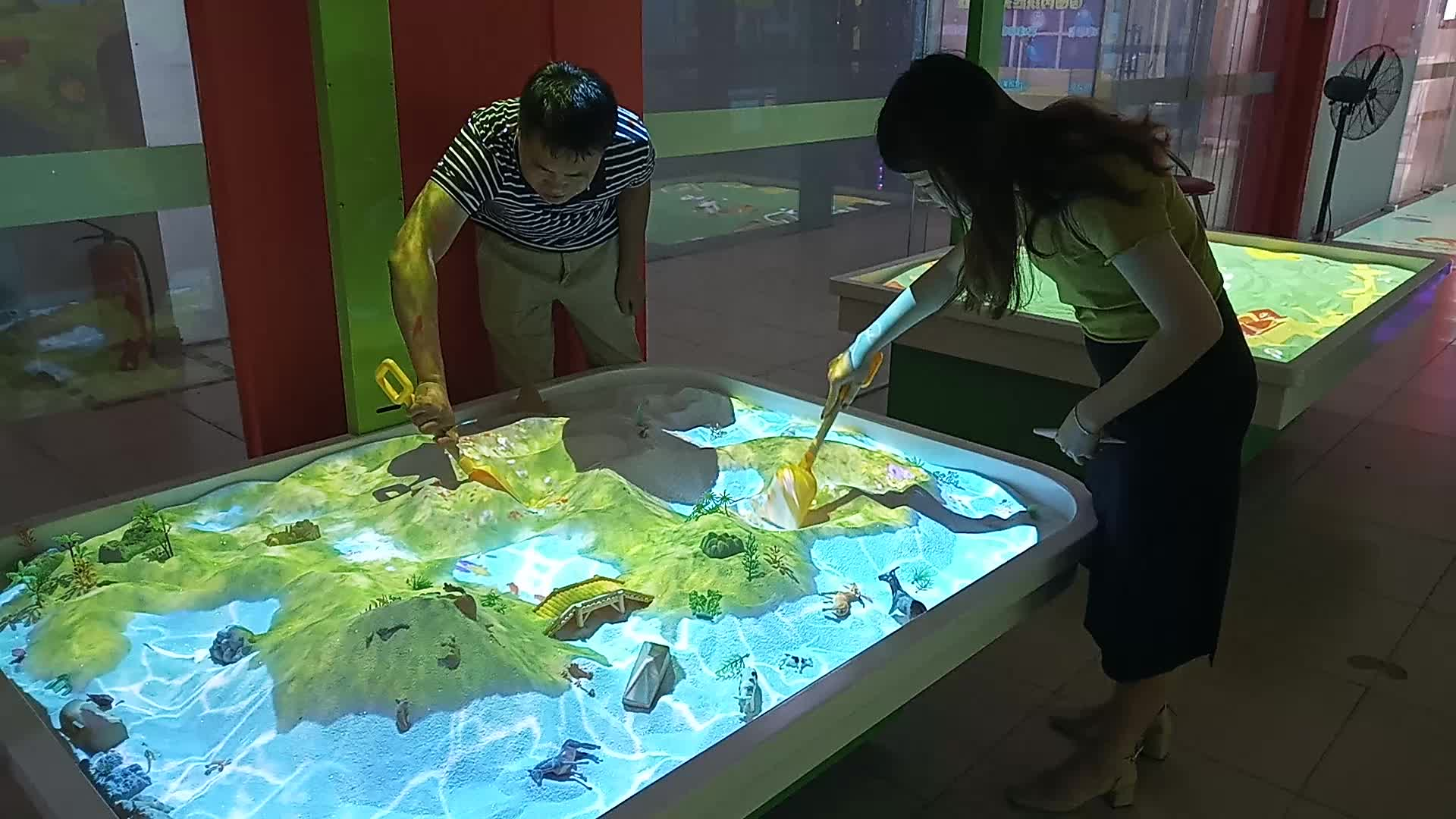 Game Center Kids Interactive Game Led Floor Projection