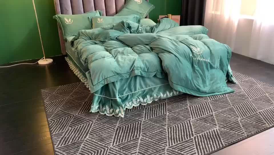 2020 nuevo diseño respetuoso del medio ambiente Bebé Ropa de cama conjunto