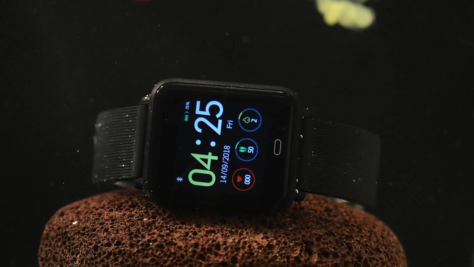 DOASAP Q9 Smartwatch Blood Pressure Heart Rate Sleep Monitor IP67  Waterproof Sport Fitness Tracker Watch Smart watch Shenzhen, View Q9  Smartwatch,