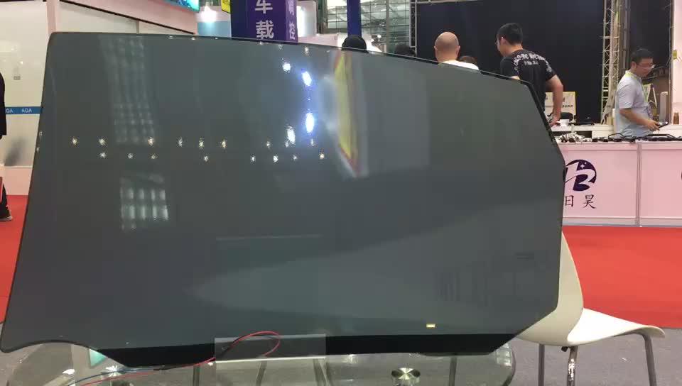 Dim siyah renk PDLC elektrokromik araba pencere akıllı cam filmi fiyat