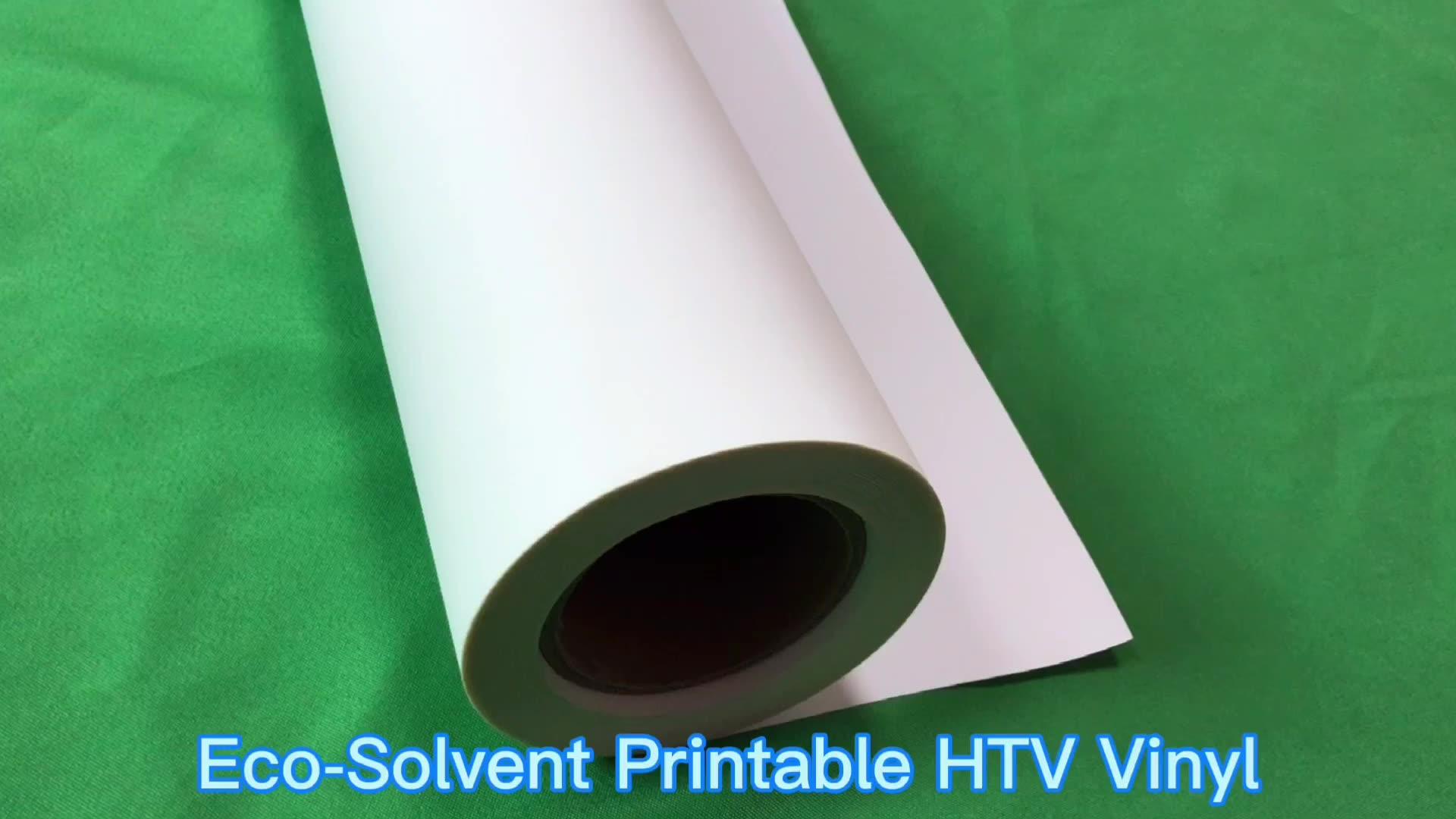 Eco solven printer PU heat transfer hydro printing film vinyl paper tissue inkjet for fabric clothing