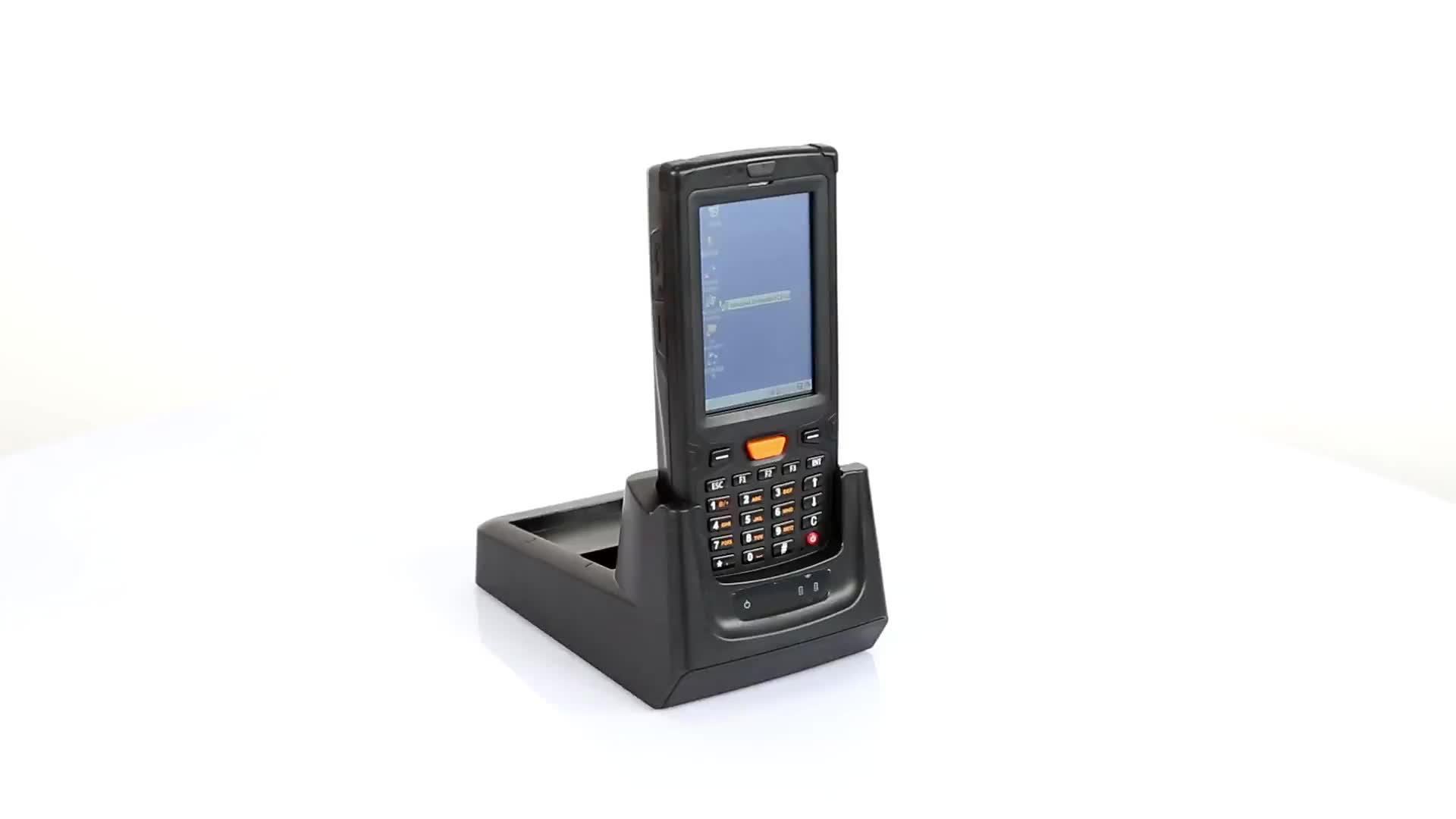 Win CE 1D 2D Barcode Scanner PDA Terminal 3G NFC RFID Bar Code Reader Handheld Rugged With GPS GPRS  Camera