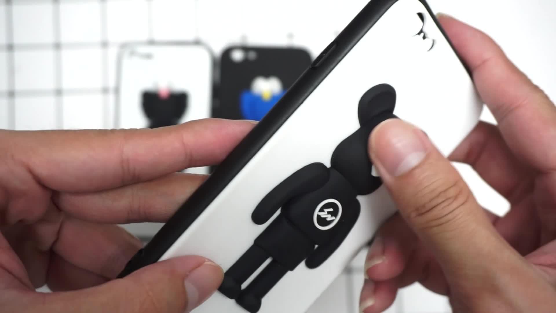 Nuovo KAWS Giocattolo Sesame Street 3D dura Del Telefono della Cassa del telefono Per Huawei Compagno di 20 pro Nova 3i per Samsung S10 PIÙ