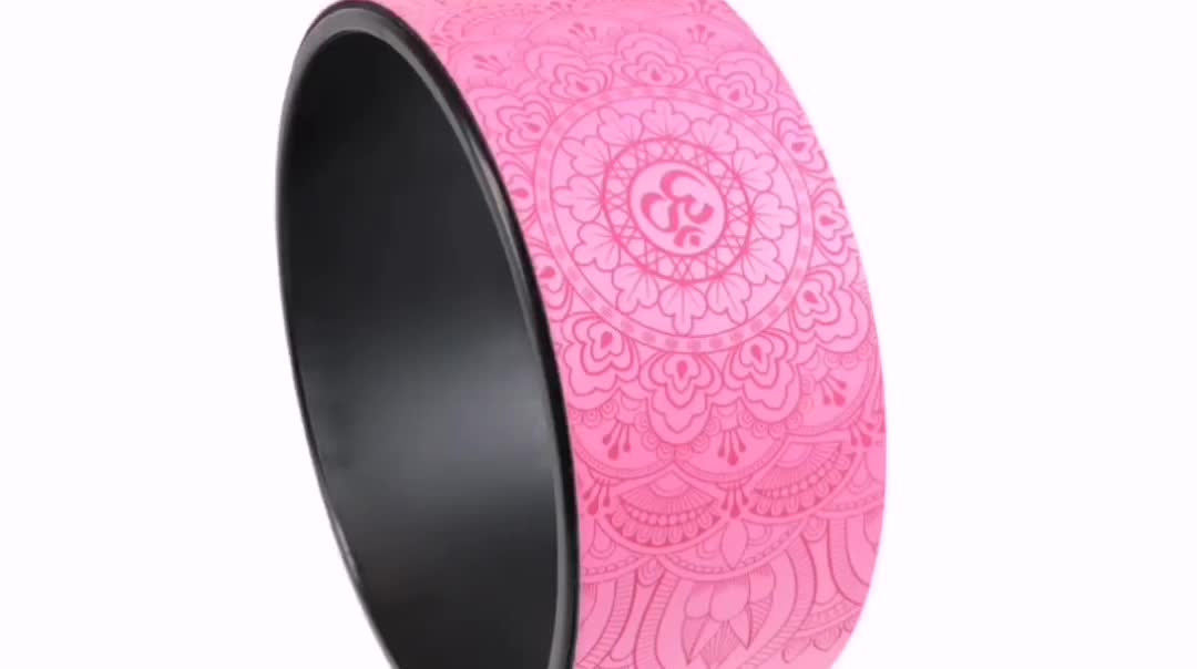 CYCHOS Shanghai Natural rubber material bodybuilding exercise high-quality yoga wheel