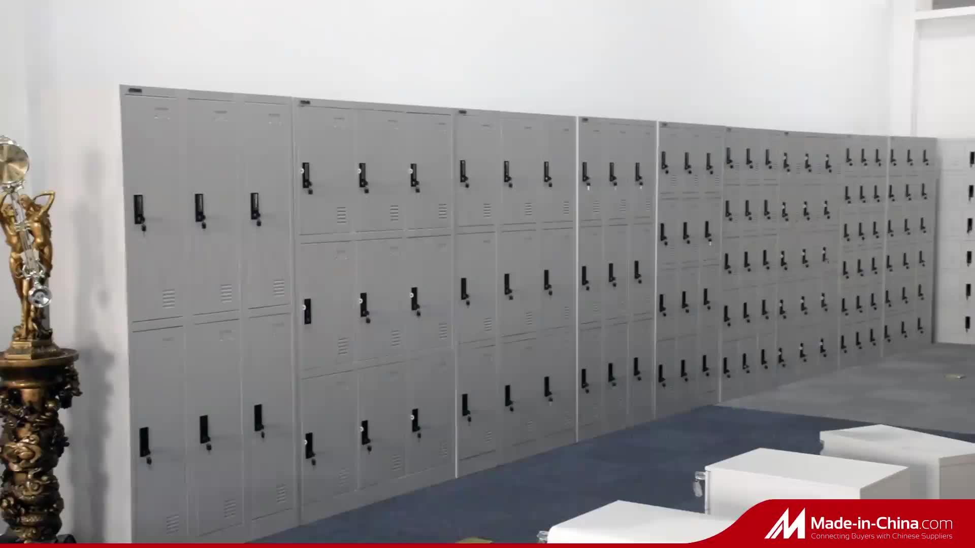 Мебель и домашний интерьер Multi Tier Metal 4 стальные двери с замком