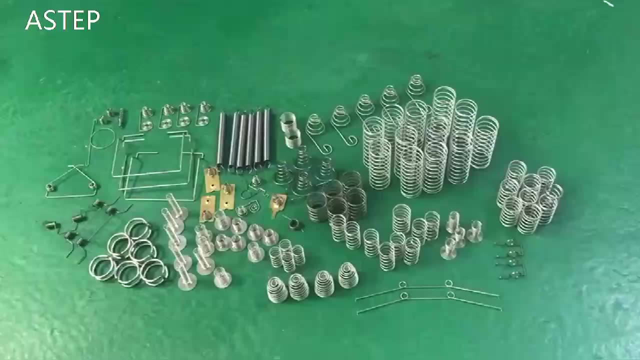 High precision customizable OEM stainless steel spring clip carbon steel spring button hardware