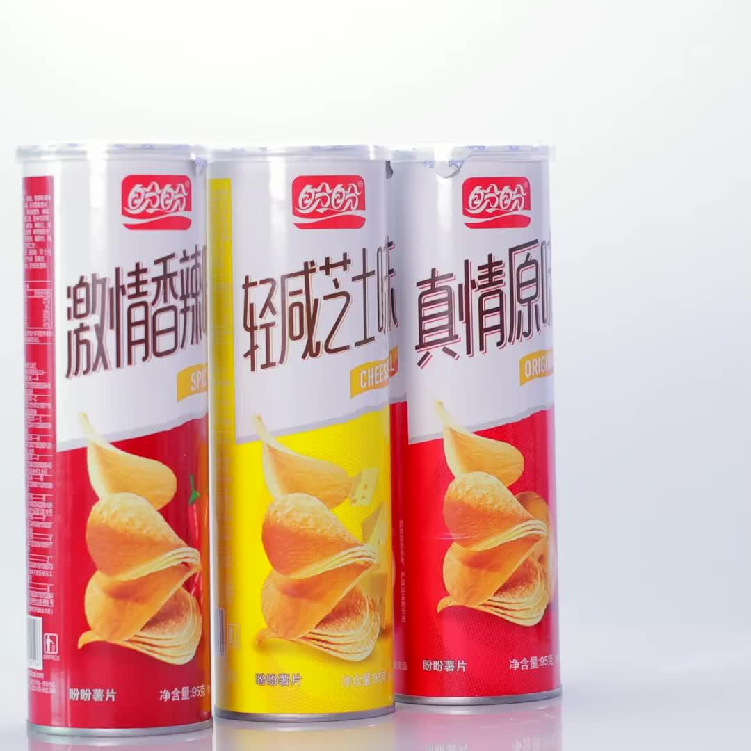 Private Label Pringles Stijl Blik Chips