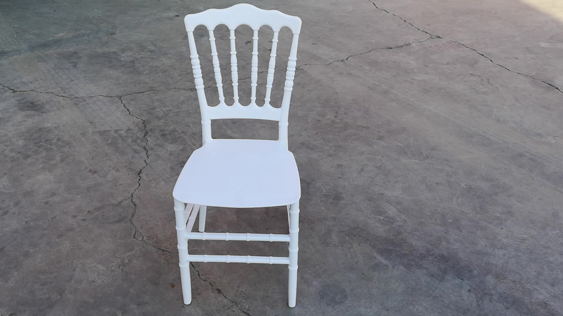 Hot Sale Resin Napoleon Chair Banquet Chair