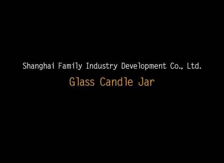 Unieke Geo Cut Glas Kaars Jar van decoratieve bruiloft met deksel