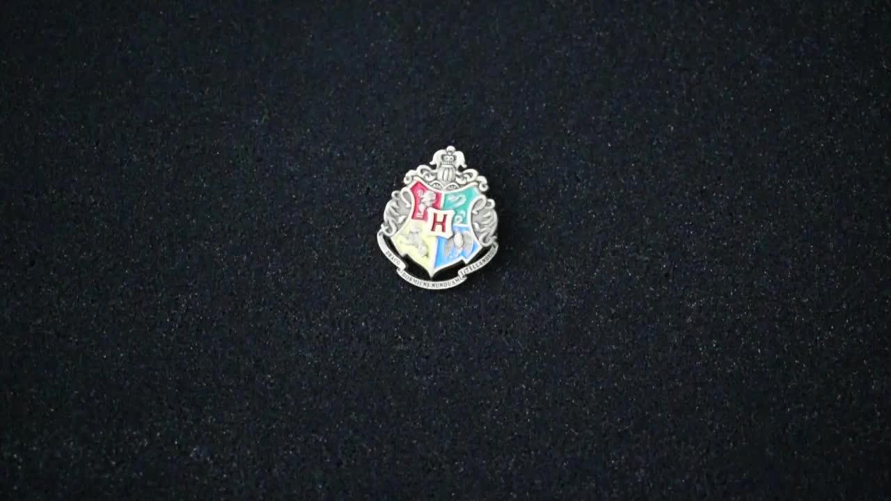 Custom 3D Spilla In Metallo Harry Potter Anime badge Smalto Badge Pin