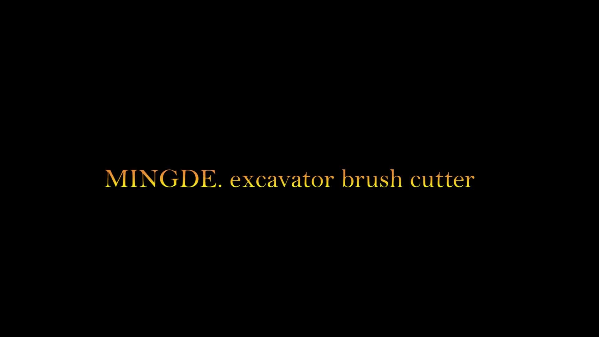 New model mini excavator attachment brush cutter