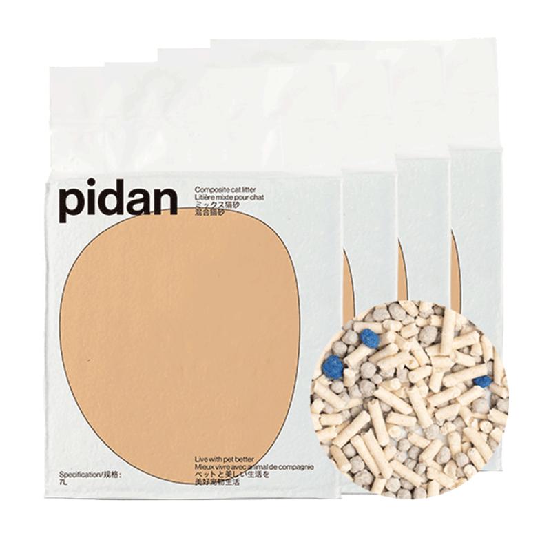 pidan猫砂混合砂28L除臭猫沙