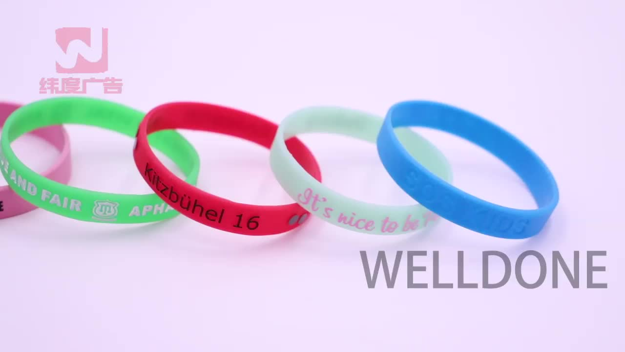 Cheapest gift promotion item silicon bracelet wrist bands custom silicone wristband