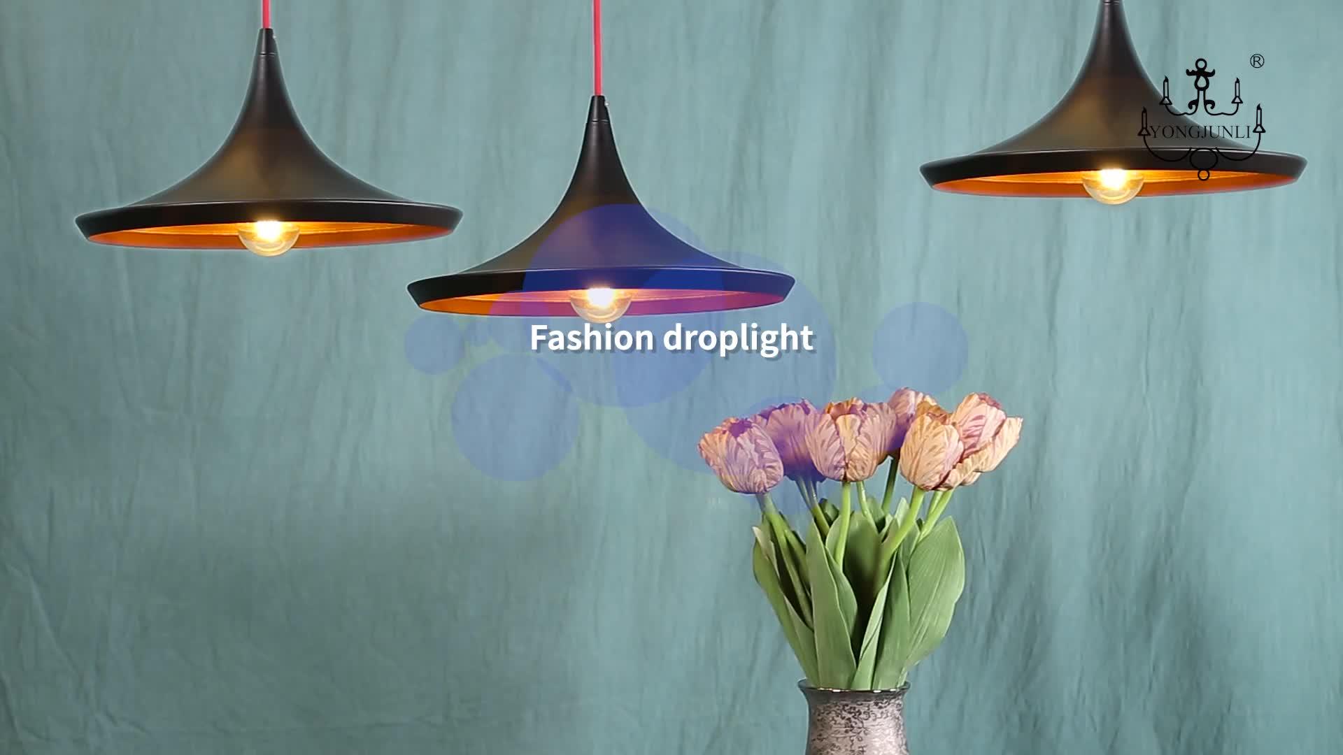 Eetkamer smeedijzeren aluminium zwarte kroonluchters e27 modern design keuken led hanglamp