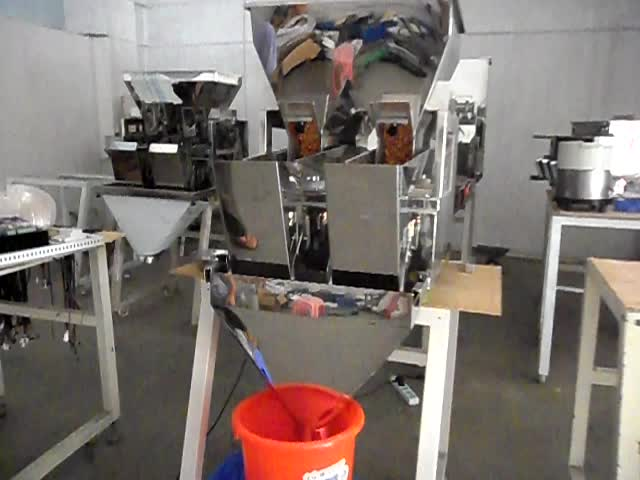 MODULAR HIGH QUALITY 2 HEAD  LINEAR WEIGHER FOR FODDER, COFEEE BEAN