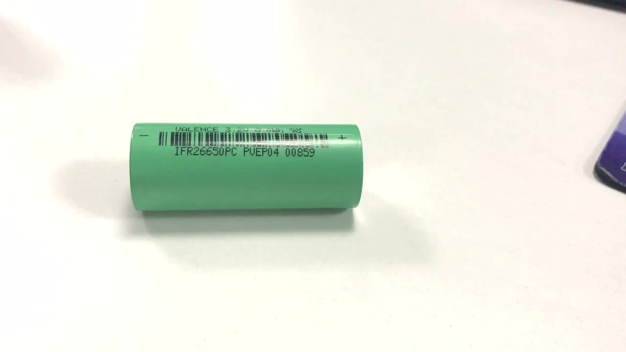 Victpower Rechargeable 26650 lifepo4 Battery 3.2V 2500mAh