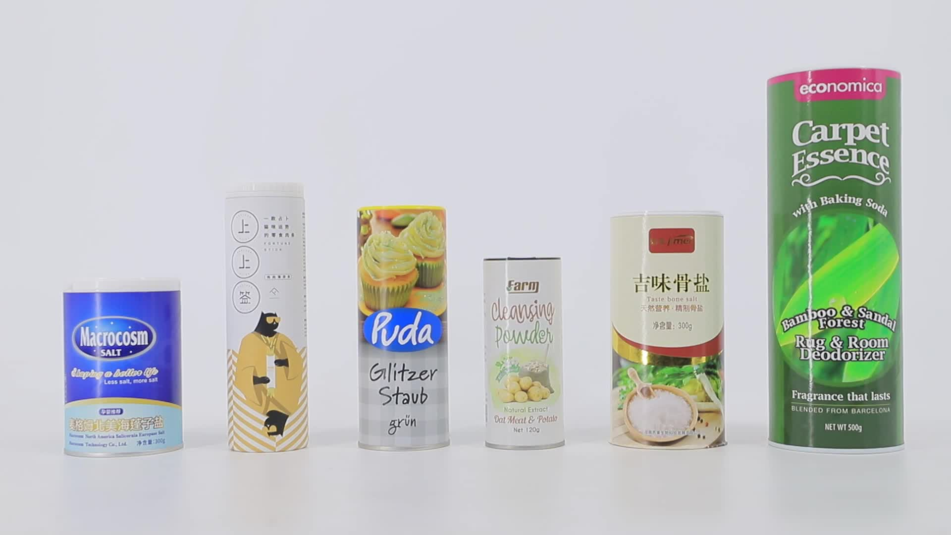 High Quality Cardboard Spice Box Salt Shaker Container