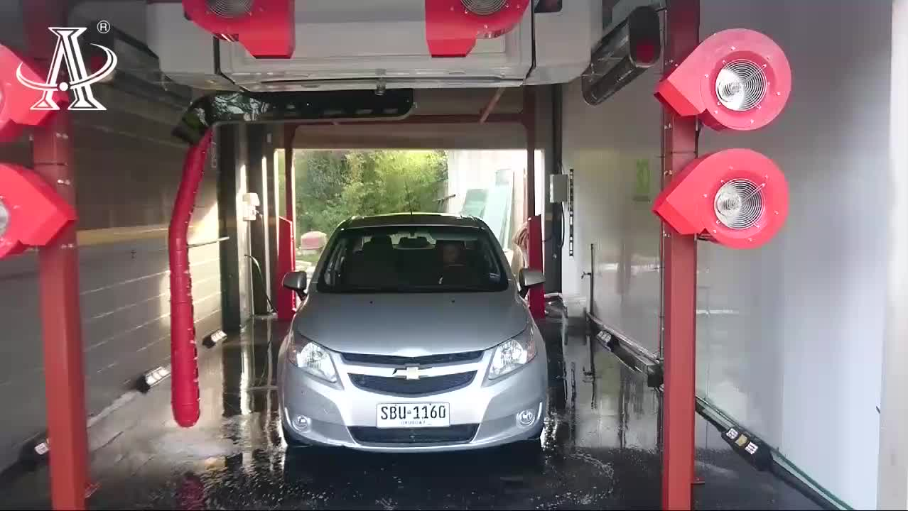 Dericen DWS2 Touchless Car Wash Machine Fully Automatic
