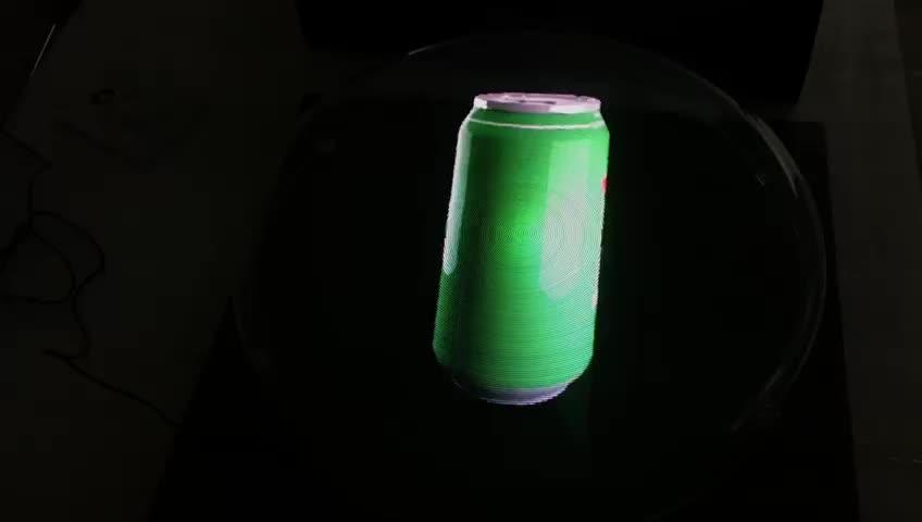 42cm होलोग्राम प्रोजेक्टर 3D होलोग्राफिक प्रदर्शन 3D होलोग्राम विज्ञापन प्रशंसक प्रशंसक होलोग्राम विज्ञापन खिलाड़ी का नेतृत्व किया