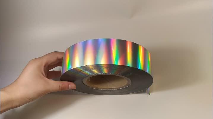 Folha de estampagem holográfica de alta qualidade