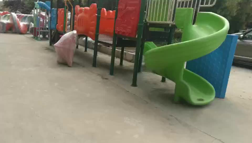 Attractive Children Cheapest Outdoor Play Park Games Slide