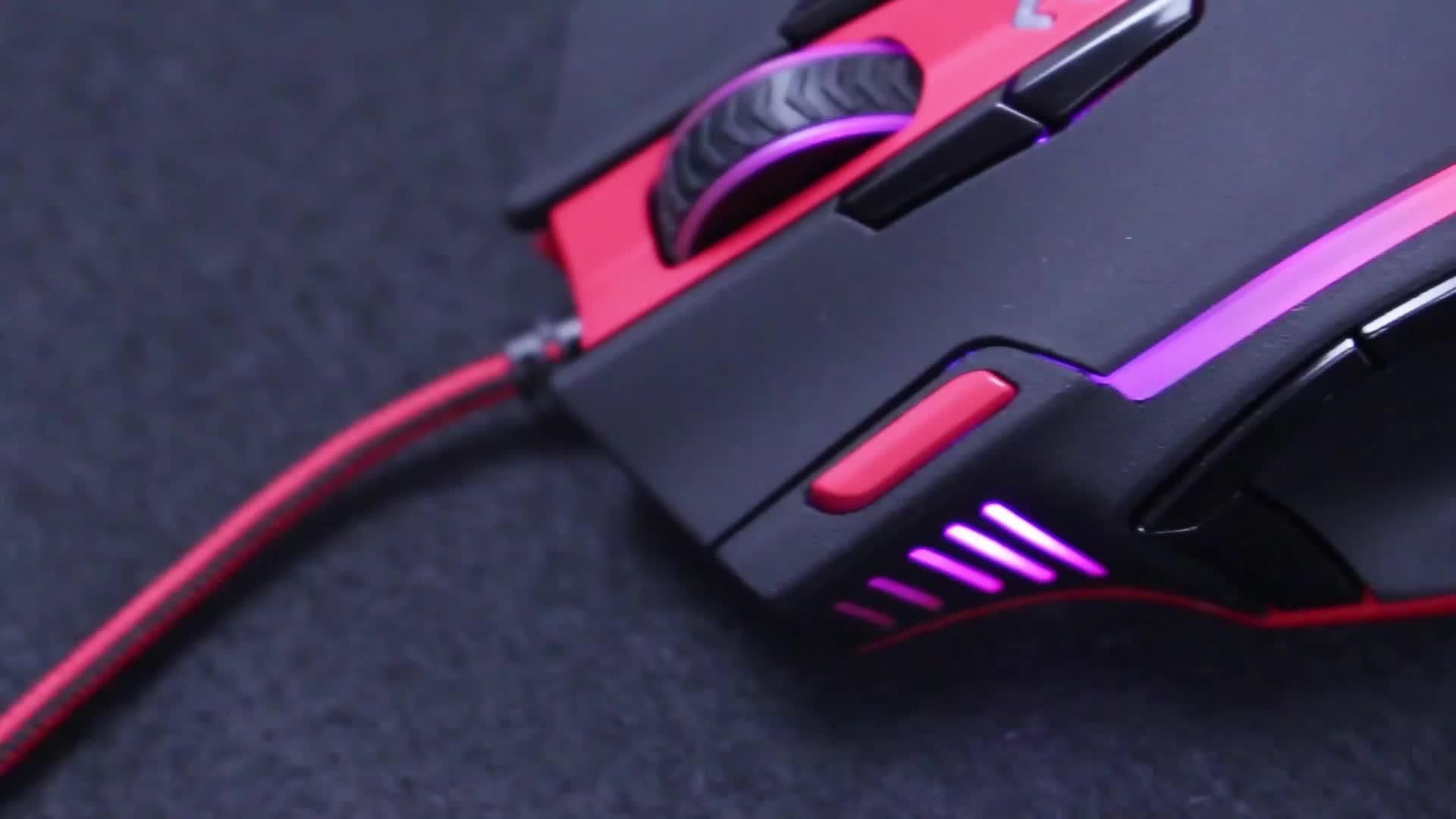 M902 16400 DPI Mouse A Laser de alto Desempenho Para A Profissão Gamer