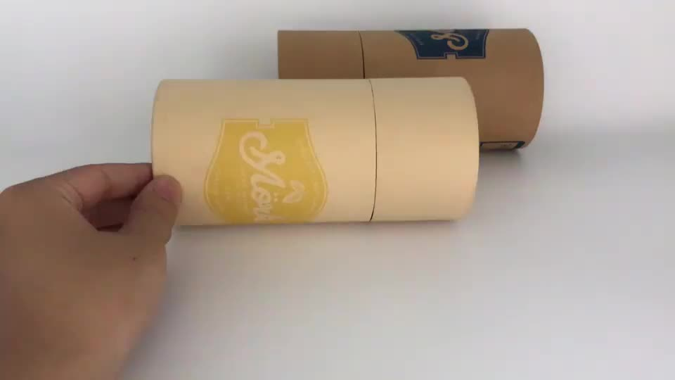 customized food grade cake paper packaging box with handle