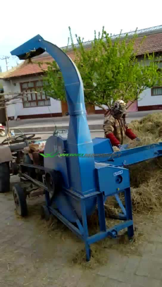 Weiwei capactity 10t chaff cutter multifunction automatic feeding feed processing machinery