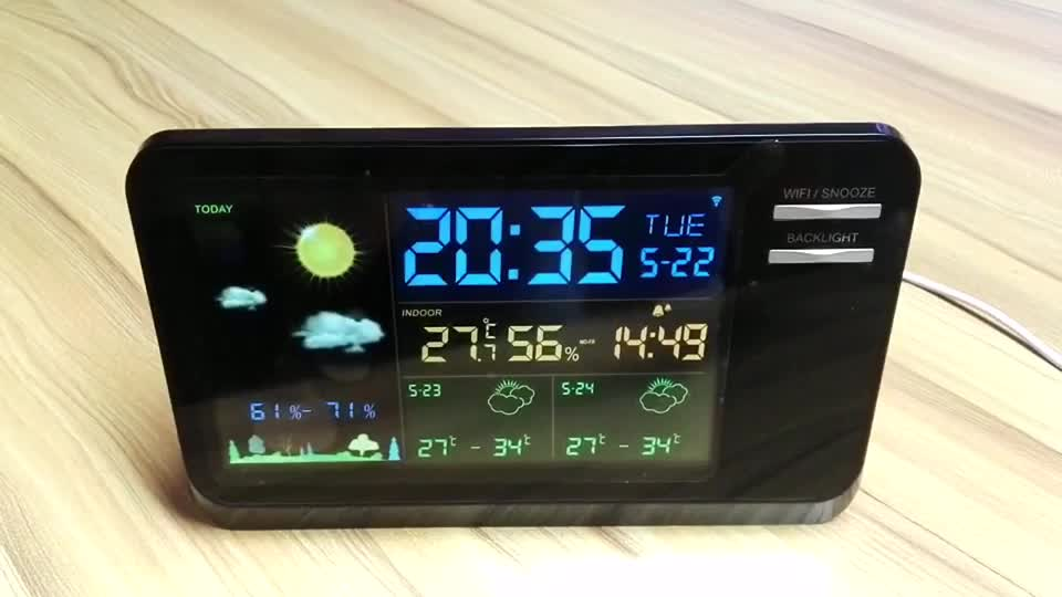 Migliore elettronica professionale meteorologico precisione casa stazione meteo/acurite live dell'interno desktop clock weather