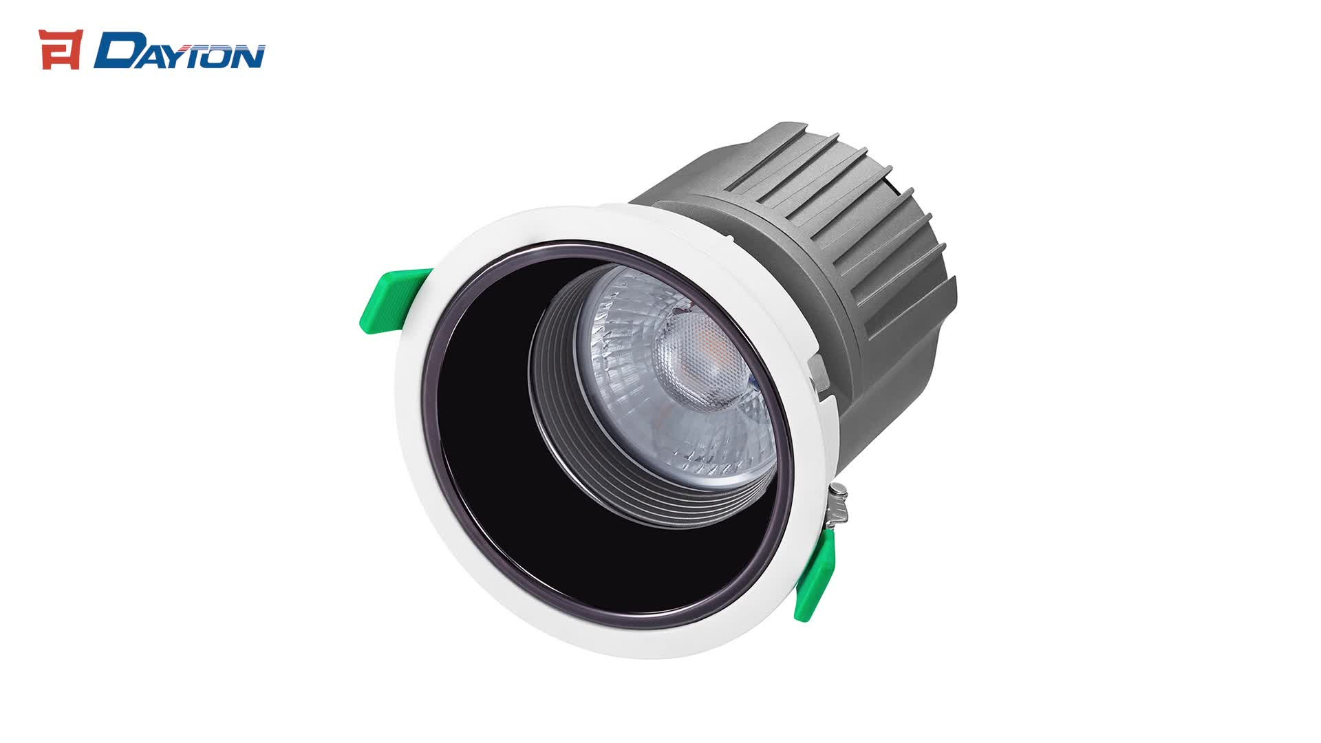 30W 35W COB Dimmable Down Lights Recessed LED Downlight Adjustable