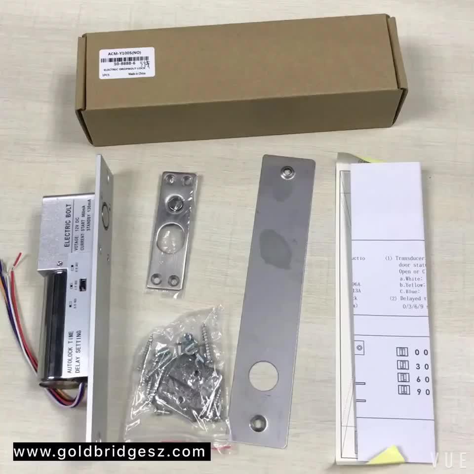 Wholesaler Price RFID Door Access control electric drop bolt lock