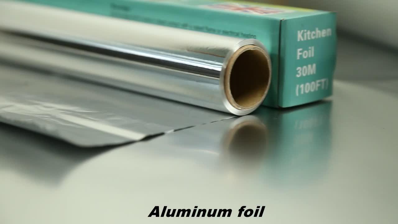 EU food contact 10micron 8011 aluminum film