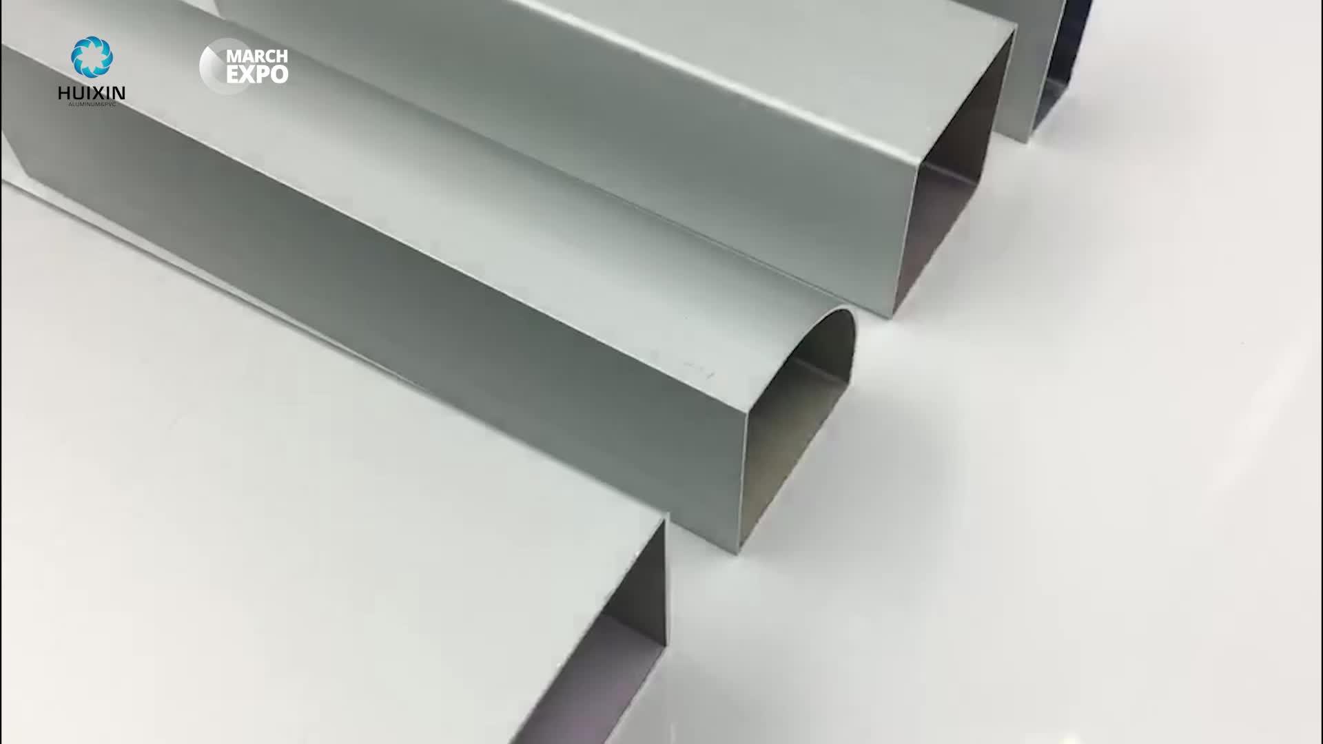 Best quality rectangular tube 50x50 aluminium profile