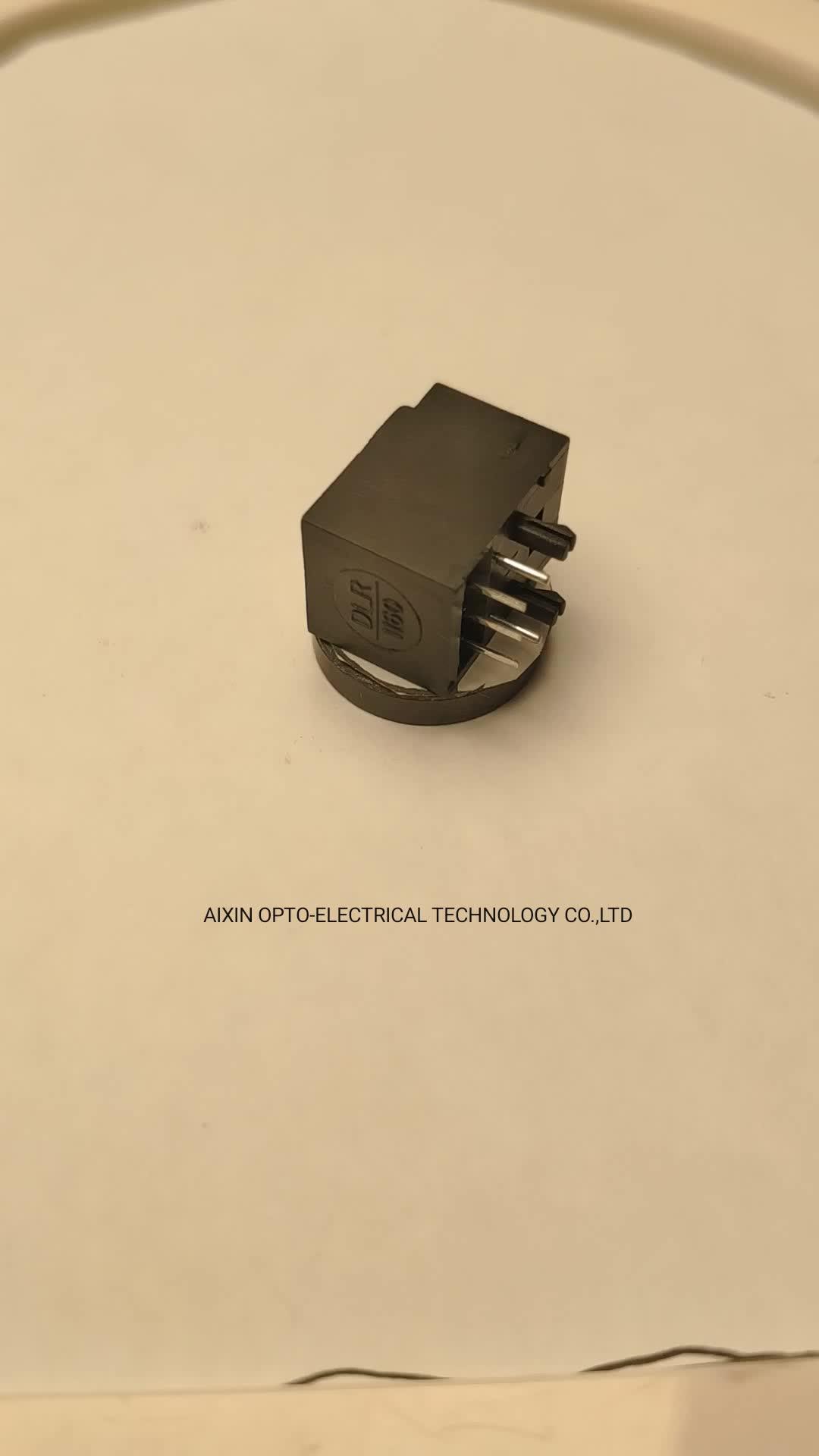 Quang toslink connector nhận sợi quang pcb jack DLR1160