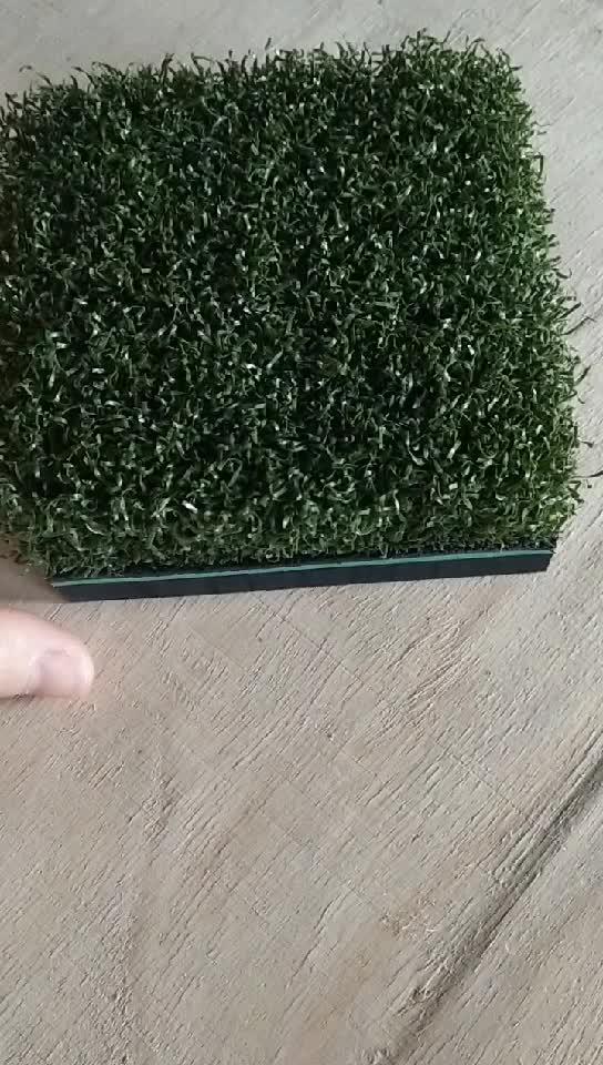 Гольф Тройник линия Газон Коврик для гольфа с 35 мм тройник линия turf и 10 мм поролон