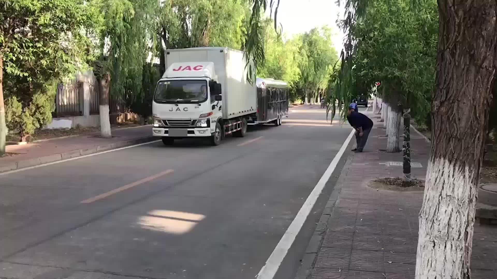 จีนใหม่มอเตอร์รถสามล้อรถเข็นอาหารมือถือ