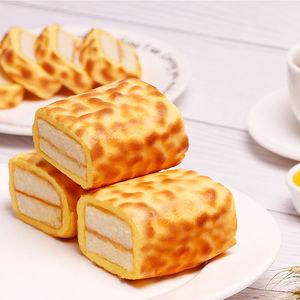 【买一送一】虎皮蛋糕卷早餐面包蛋糕夹心零食整箱