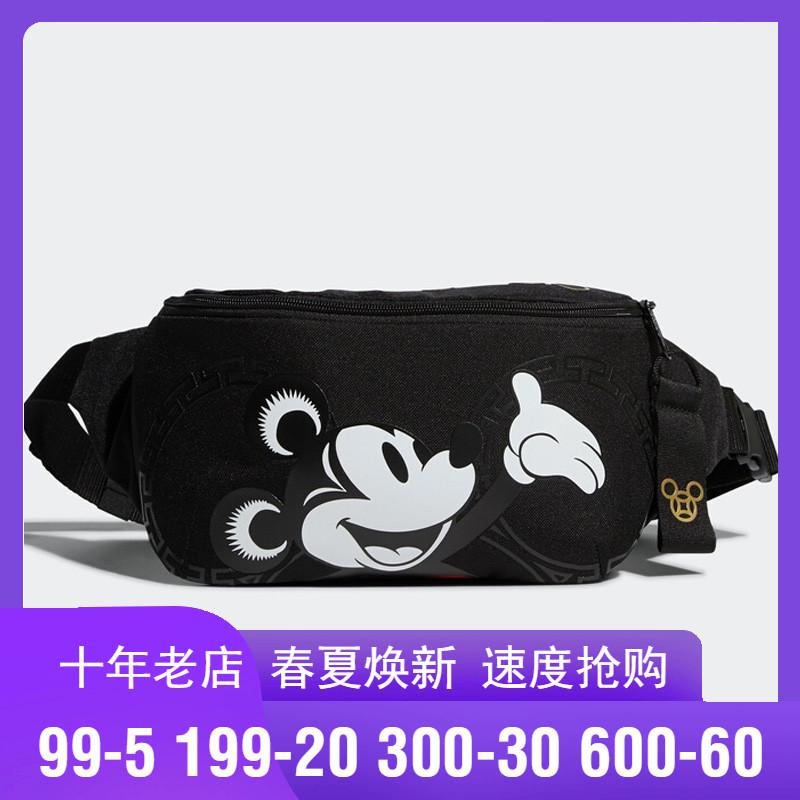 Túi xách nữ Adidas NEO túi nữ 2020 năm mới chuột Mickey thể thao túi đeo chéo thể thao túi đeo chéo GI0054 - Túi